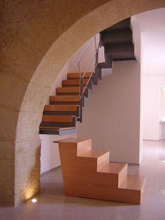 Casa B., Enna, Italy, 2000 by Giuseppe di Prima #architecture #design #stair #italy