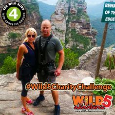 """First in line on Thursday 21 April was local journalist Shona Aylward from the South Coast Herald. She was joined by boyfriend Mark Lawlor, Owner at Superbodies Port Shepstone, and together they faced the #WildSlide where they experienced solitary bliss! Sliding along the cable that spans across Oribi Gorge, 165m above the treetops the couple faced their fears all in an effort to raise much needed funds for charity!  """"Mark and I loved every minute of the #Wild5CharityChallenge. It was an… Effort, Charity, Thursday, Bliss, Innovation, Cable, Coast, Boyfriend, Challenges"""