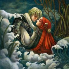 "Benjamin Lacombe - Covert-art from ""The Boy with the Cuckoo-Clock Heart""."