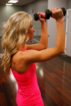 Dream arms in 10 minute sessions. Good for wedding arms!