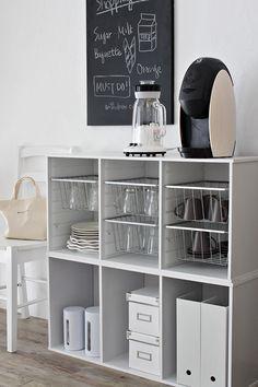 Home organization tips, organized home, organized shelves, organized pantry Kitchen Storage, Storage Spaces, Locker Storage, Diy Locker, My New Room, My Room, Diy Interior, Interior Decorating, Muji Style