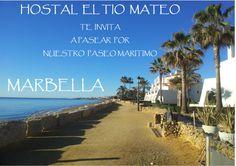 ven a marbella y pasea maseo maritimo #marbella @hostaltiomateo