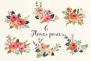 Watercolor flower DIY pack Vol.3 - Illustrations - 4