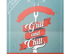"Check out new work on my @Behance portfolio: ""Grill & Chill"" http://be.net/gallery/32467453/Grill-Chill"