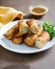 Crispy Chicken Vegetable Spring Rolls (Egg Rolls) – A Neighborhood Favorite