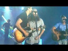 Willie Robertson Singing with Darius Rucker and Luke Bryan SAM_0581 - YouTube