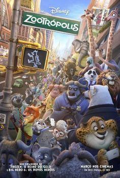 logotipo do filme cidade zootrópolis - Pesquisa Google