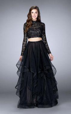 Check out the latest La Femme 23924 dresses at prom dress stores authorized by the International Prom Association. Indian Fashion Dresses, Indian Gowns Dresses, Dress Indian Style, Prom Dresses, Long Dresses, Blouse Lehenga, Lehnga Dress, Lehenga Choli, Bridal Lehenga