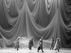 Michelle Jank Set Design Theatre, Stage Design, Fabric Structure, Tadelakt, Film Inspiration, Stage Set, Scenic Design, Land Art, Minimal Design