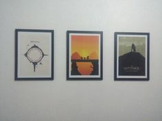 Posters minimalistas novos!!!!