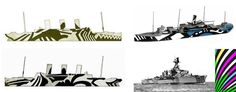 imperial war museum dazzle camouflage - Google Search
