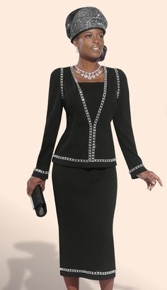 women's church suits 2014 | DVK2984 (Donna Vinci Spring And Summer Womens Church Knits 2014)
