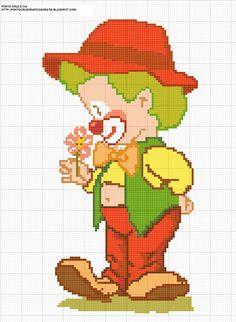 Die 104 Besten Bilder Von Sticken Clown Clowns Embroidery Und