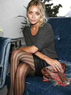 tights, Ashley Olsen.
