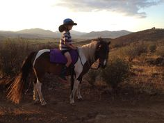 Tonka and Brayden, in their fancy riding outfit! Photo sent in by Amy Friend. #horses #cowboy #horseback #sunset #horselover #barnlife #painthorse #paintedpony