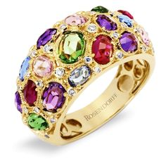 Rosendorff Water Colours Collection Ring