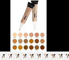 LA Girl Pro Coneal HD High Definiton Concealer 025 OZ GC975 Medium Bisque * You can get more details here : Best Concealer