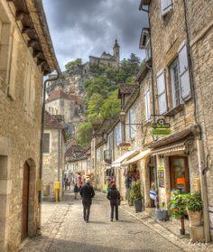 Rocamadour - Lot - France Rocamadour France, Photos, Street View, Places, Bridge Pattern, History, Tourism, Vacation, Photography