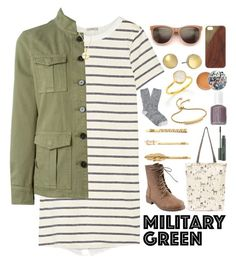 Back to Nature Outfit by ohsosartorial on Polyvore featuring Clu, Tory Burch, J.Crew, Bonnibel, Monica Vinader, Alexis Bittar, Dogeared, Native Union, Paul & Joe and Essie