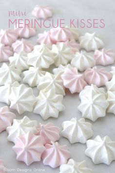 Mini Meringue Kisses