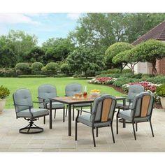 Better Homes and Gardens Rolling Oaks 7pc Dining Set Bett…