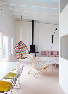 1000 images about hanging chairs on pinterest hanging for Hanging chair living room