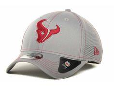 Houston Texans New Era NFL Gray Neo 39THIRTY Cap Hats