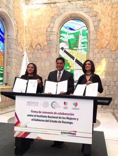 InMujeres firmó Convenio por la igualdad con el Gobierno de Durango - http://plenilunia.com/noticias-2/inmujeres-firmo-convenio-por-la-igualdad-con-el-gobierno-de-durango/32928/