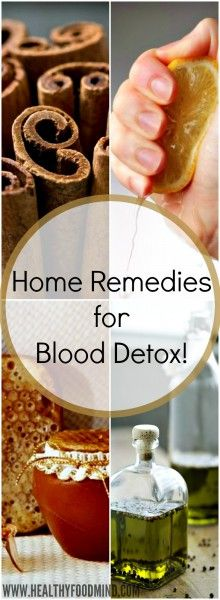 Basically, detoxification means cleaning the blood. This is done by removing impurities from the blood in the liver, where toxins are processed .