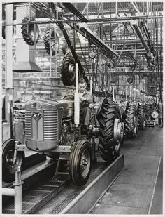 Image result for little grey fergie tractor factory
