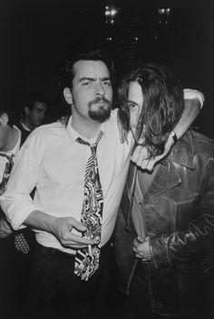Charlie Sheen y Johnny Depp, 1993