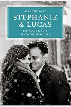 save the date - looks like a book cover