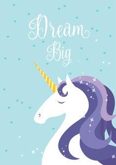 Unicorn lovers #nursery #mom #poster #unicorn #miracle