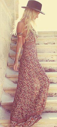 tribal pattern patterned dress gitano maxi pattern open back dress clothes boho boho dress maxi dress boho chic maxi open back dresses summer dress