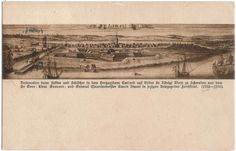 postcard from old picture 1702-1706.