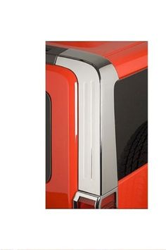 Hummer H3 Accessories - Chrome Rear Upper Pillar Covers 2006, 2007, 2008, 2009, 2010 Add a customized look to the rear of your Hummer H3. Made of high grade automotive ABS. Chrome plated for a superior finish. Sold as a pair. Fits 2006, 2007, 2008, 2009, 2010 - Hummer H3.  #OCParts #AutomotivePartsAndAccessories