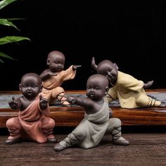 Online Shop Home Decoration Kung Fu Tea Accessories Small Ornaments Boutique Yixing Pottery Sand Monk Tea Pet Purple Baby Buddha, Little Buddha, Buddha Zen, Buddha Lotus, Buddha Garden, Kung Fu, Small Buddha Statue, Buddha Kunst, Buddha Decor
