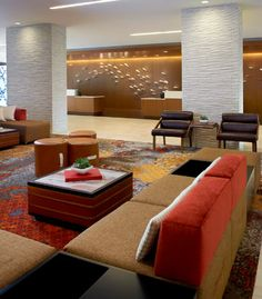 Great Room/Hotel Lobby // Chicago Marriott Naperville
