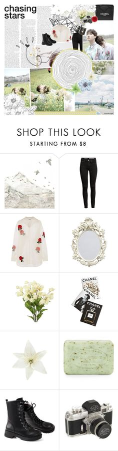"""""""Hold Me Once Again"""" by taeangel ❤ liked on Polyvore featuring WALL, Color Me, Ashish, Old Navy, Chanel, Assouline Publishing, Clips, Pré de Provence and L.K.Bennett"""