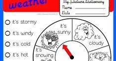 anglais, weather, temps, météo, CP, CE1, CE2, CM1, CM2, école, classe