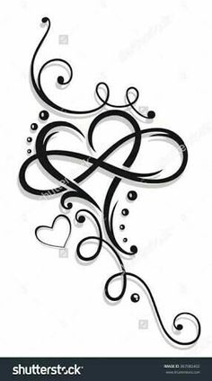 Tribal Heart Large Infinity Loop Stock-Vektorgrafik (Lizenzfrei) 1008874423 – foot tattoos for women Tattoos With Kids Names, Tattoos For Daughters, Sister Tattoos, Tattoos For Women Small, Small Tattoos, Tattoos Children, Side Tattoos Women, Daughter Tattoos, Tattoos For Grandchildren