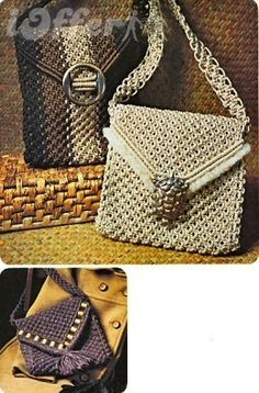 macrame purse book of patterns
