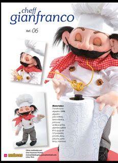 REVISTA ARTE MANUAL MUÑECOS FASCIONADOS Crochet Dolls, Crochet Hats, Sewing Dolls, Soft Sculpture, Elf, Projects To Try, Teddy Bear, Toys, Animals