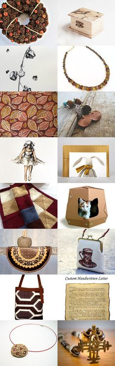 All-Fall Gifts of Tenderness by #solandia  #etsy #fall #autumn #home #decor #cat #catlover #catbed #art #box #treasury #women #gift #trend #season