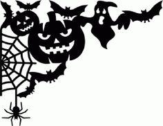 bats pumpkin ghost spiderweb spider