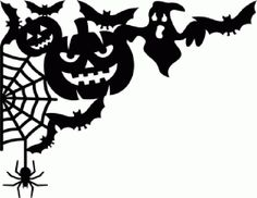 bats pumpkin ghost spiderweb spider