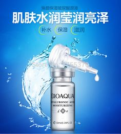 Hyaluronic Acid Essence Serum Face Skin Care Acne Pimples Treatment Whitening Moisturizing Anti Winkles Cream