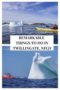 Twillingate, Newfoundland is one of the best places in the world to see icebergs. Several coastal trails offer excellent iceberg viewing from May to July. Canadian Travel, Canadian Rockies, Newfoundland Icebergs, Visit Canada, Canada Canada, East Coast Tours, Stuff To Do, Things To Do, Vancouver Photography
