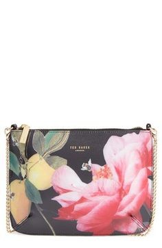 c2ef2bf64e9429 Ted Baker London  Citrus Bloom - Juletta  Printed Leather Crossbody Bag  available at