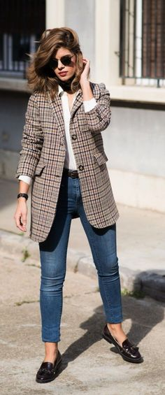 799e62340c7 35 Casual Work Outfits with Flats for Every Women